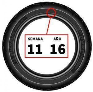 Fecha fabricación de neumáticos