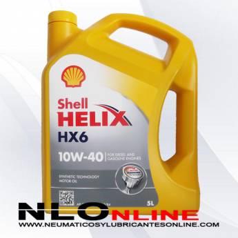 Shell Helix HX6 10W40 5L - 20.50 €