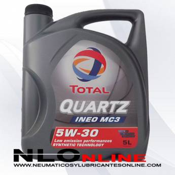 Total Quartz Ineo MC3 5W30 5L - 24.95 €