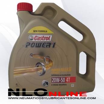 Castrol Power 1 20W50 4T 4L - 22.95 €
