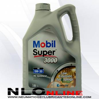 Mobil Super 3000 XE 5W30 5L - 29.50 €
