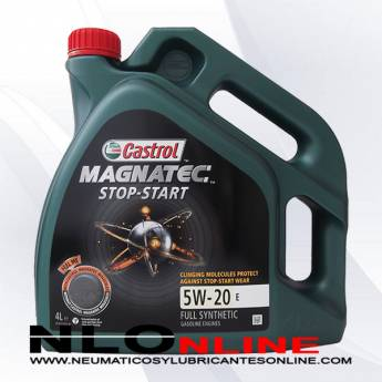 Castrol Magnatec Stop-Start 5W20 E 4L - 28.50 €