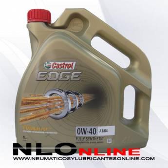 Castrol Edge 0W40 A3/B4 4L - 34.95 €