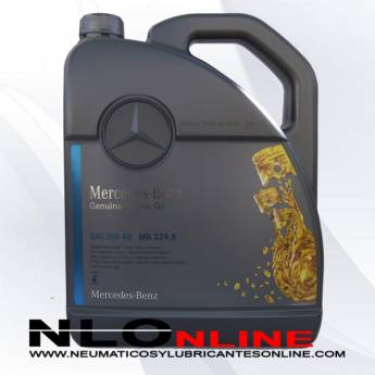 Mercedes Benz Original Oil 5W40 229.5 5L - 36.90 €