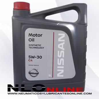 Nissan Motor Oil 5W30 C4 5L -31.40 €