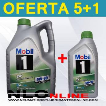 Mobil 1 ESP 5W30 (5L+1L) - 46.75 €