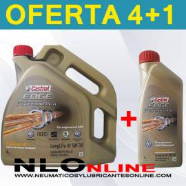 Castrol Edge Professional LLIII 5W30 (4L+1L) - 38.50 €