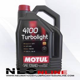 Motul 4100 Turbolight 10W40 5L - 19.50 €