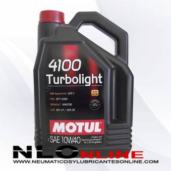 Motul 4100 Turbolight 10W40 5L - 19.95 €
