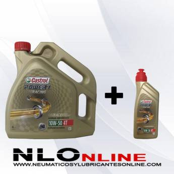 Castrol Power 1 Racing 4T 10W50 PACK 4L+1L