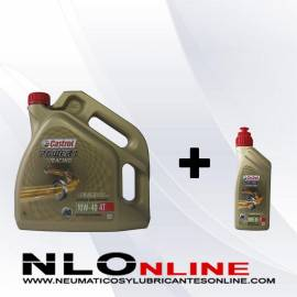 Castrol Power 1 Racing 4T 10W40 OFERTA 4L+1L