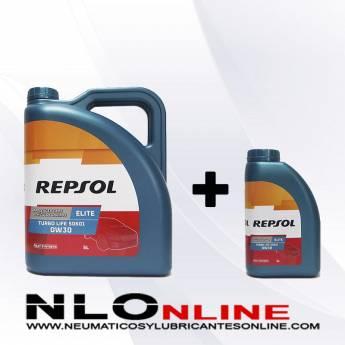 Repsol Elite Turbo Life 0W30 PACK 5L+1L