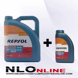 Repsol Elite Long Life 5W30 507/400 OFERTA 5L+1L