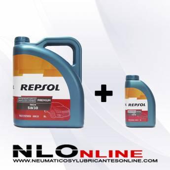 Repsol Premium Tech 5W30 PACK 5L+1L