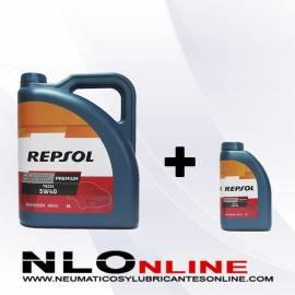 Repsol Premium Tech 5W40 OFERTA 5L+1L