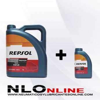 Repsol Premium Tech 5W40 PACK 5L+1L