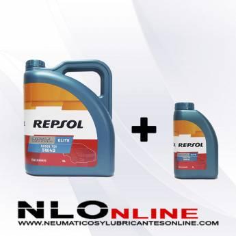 Repsol Elite TDI 5W40 505.01 PACK 5L+1L