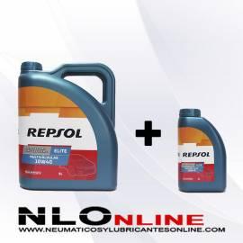 Repsol Elite Multivalvulas 10W40 OFERTA 5L+1L