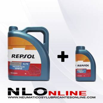 Repsol Elite Multivalvulas 10W40 PACK 5L+1L