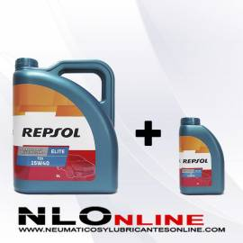 Repsol Elite TDI 15W40 OFERTA 5L+1L