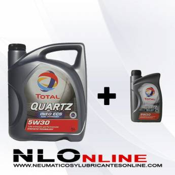 Total Quartz Ineo ECS 5W30 PACK 5L+1L
