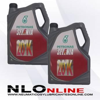 Selenia 20K 10W40 5L PACK X2 - 47.00 €