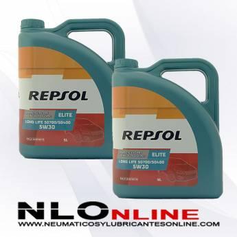 Repsol Elite Long Life 5W30 50700/50400 5L OFERTA X2