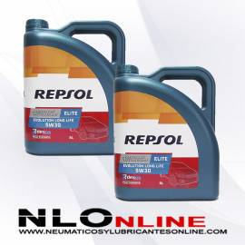 Repsol Elite Evolution Longlife 5W30 5L OFERTA X2