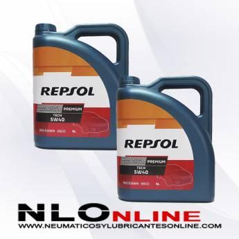 Repsol Premium Tech 5W40 5L PACK X2 - 39.90 €