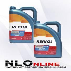 Repsol Elite Competición 5W40 5L OFERTA X2