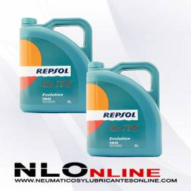 Repsol Elite Evolution 5W40 5L OFERTA X2
