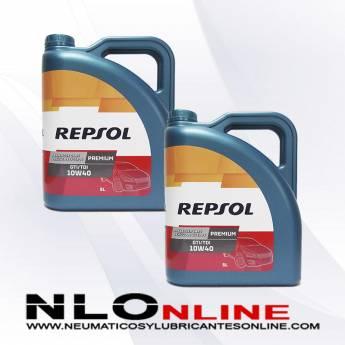 Repsol Premium TDI-GTI 10W40 5L OFERTA X2