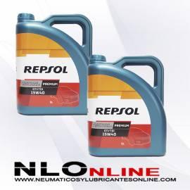 Repsol Premium TDI-GTI 15W40 5L OFERTA X2