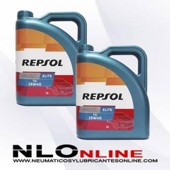 Repsol Elite TDI 15W40 5L PACK X2 - 40.00 €