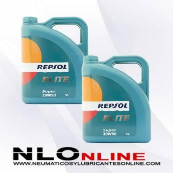 Repsol Elite Super 20W50 5L PACK X2 - 41.00 €