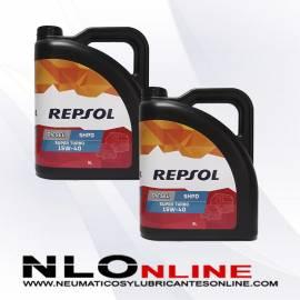 Repsol Elite Diesel Super Turbo 15W40 SHPD 5L OFERTA X2