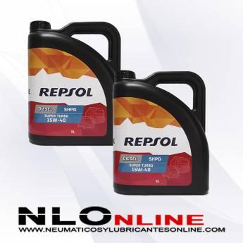 Repsol Diesel Super Turbo SHPD 15W40 5L PACK X2 - 39.00 €