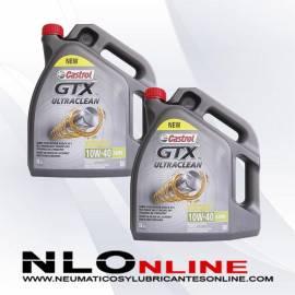 Castrol GTX ULTRACLEAN 10W40 A3/B4 5L OFERTA X2
