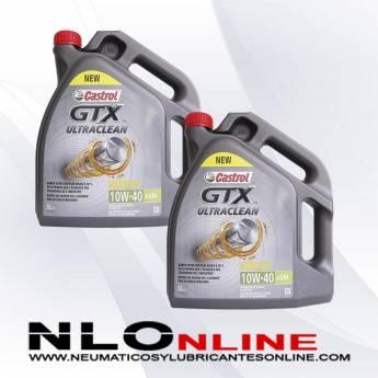 Castrol GTX ULTRACLEAN 10W40 A3/B4 5L PACK X2 - 44.00 €