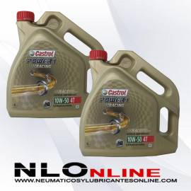Castrol Power 1 Racing 4T 10W50 4L OFERTA X2
