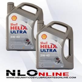 Shell Helix Ultra 5W40 5L OFERTA X2