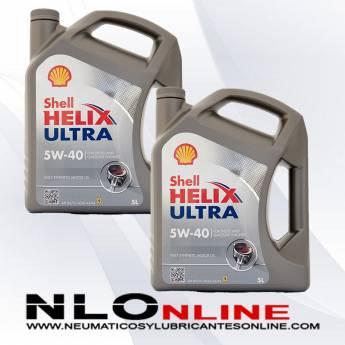 Shell Helix Ultra 5W40 5L PACK X2 - 58.00 €