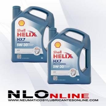 Shell Helix HX7 Professional AV 5W30 Diesel 5L PACK X2 - 49.00 €