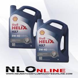 Shell Helix HX7 5W40 5L OFERTA X2