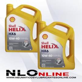 Shell Helix HX6 10W40 5L OFERTA X2