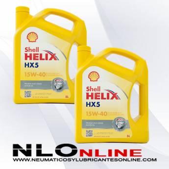 Shell Helix HX5 15W40 5L PACK X2 - 38.00 €