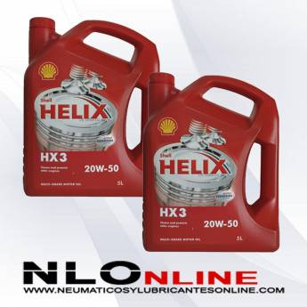 Shell Helix HX3 20W50 5L PACK X2 - 38.00 €