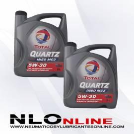 Total Quartz Ineo MC3 5W30 5L OFERTA X2