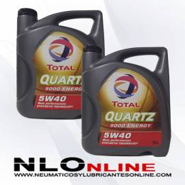 Total Quartz 9000 Energy 5W40 5L OFERTA X2