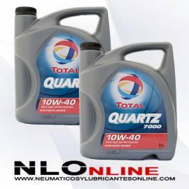 Total Quartz 7000 10W40 A3-B4 5L OFERTA X2
